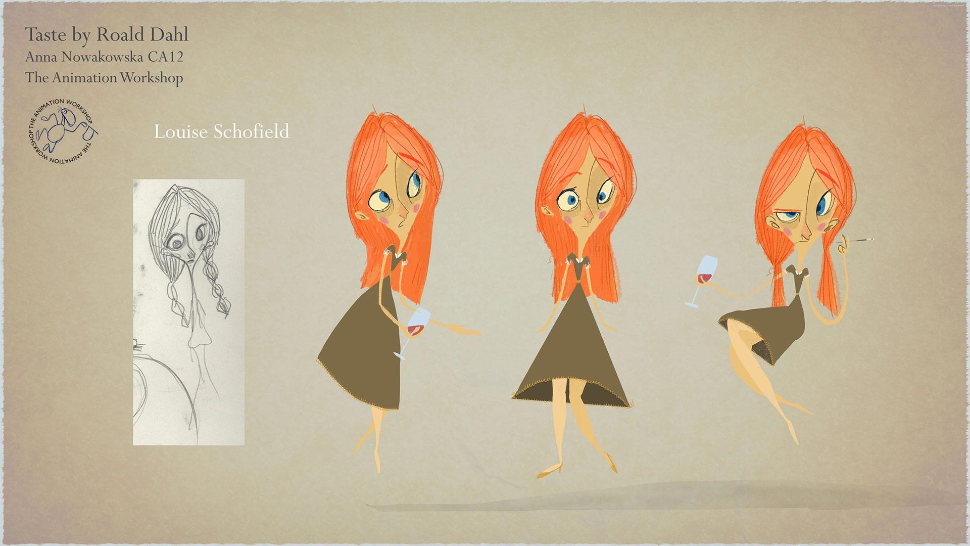 Character Design Woman