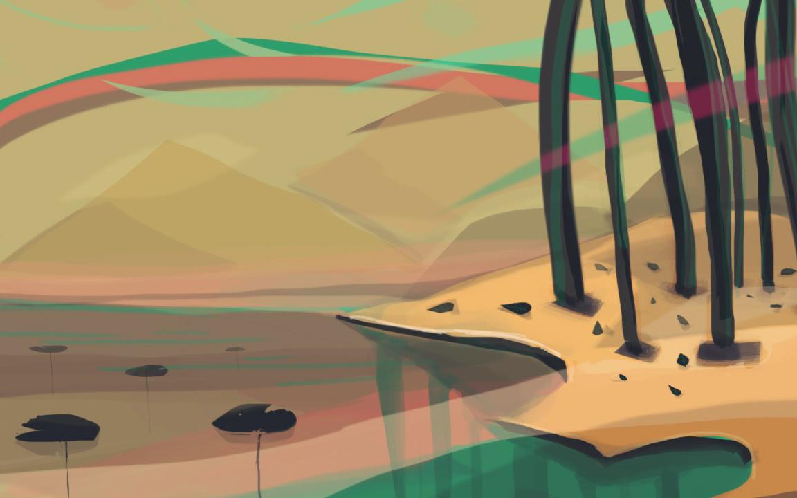 Experimental background design